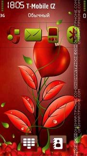 Red Love 03 es el tema de pantalla