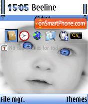 Nokia Baby OS 9.1 theme screenshot