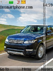 Range Rover 13 theme screenshot