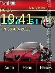 Скриншот темы Alfa Romeo