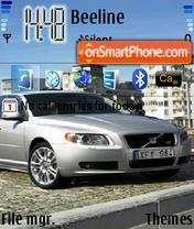 Скриншот темы Volvo S80 01