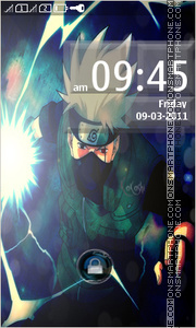 Kakashi Hatake 02 theme screenshot