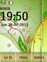 Pattern 03 es el tema de pantalla