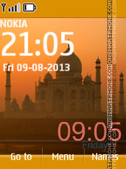 Taj Mahal 12 theme screenshot