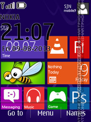 Windows 8 Pro theme screenshot