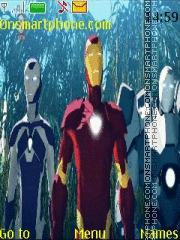 Iron Man Team theme screenshot