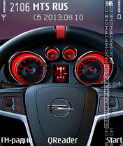 Opel-GTC theme screenshot