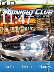 Midnight Club 03 theme screenshot