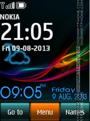 Xperia UL X2 theme screenshot