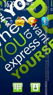 Express 01 theme screenshot