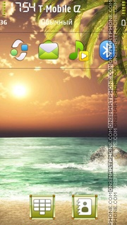 Pond side theme screenshot