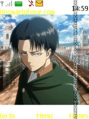 Levi Rivaille tema screenshot