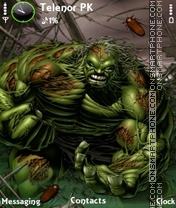 Hulk zombie theme screenshot