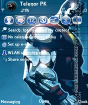 Clous V2 theme screenshot