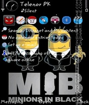 Minions v3 theme screenshot