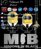 Скриншот темы Minions v3