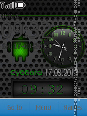 Android theme screenshot