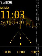 Highway theme screenshot
