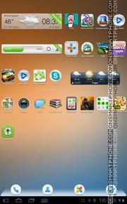 Capture d'écran Abstract Background thème