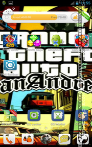 Gta Sanandreas 01 theme screenshot
