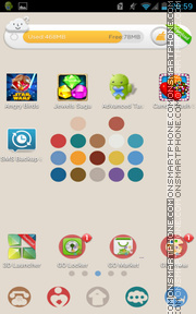 Color Dot 01 theme screenshot