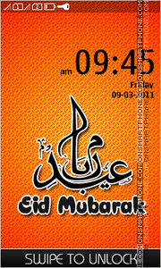 Eid Mubarak 02 theme screenshot