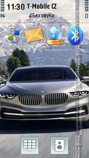 BMW Pininfarina Gran Lusso theme screenshot