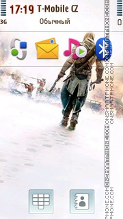 Connor - Assassins Creed III theme screenshot