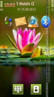 Water Lilie Theme-Screenshot