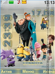 Despicable Me tema screenshot