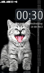 Kitten tema screenshot
