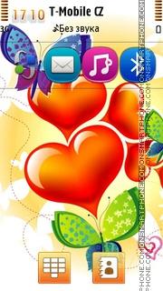 Hearts 10 theme screenshot
