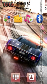 Need For Speed Police es el tema de pantalla