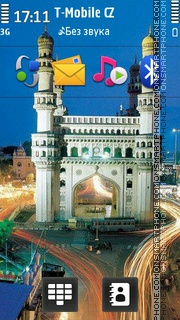 India 02 theme screenshot