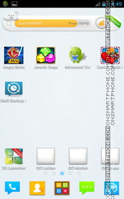 GO xCUBE tema screenshot