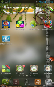 Insects 01 tema screenshot