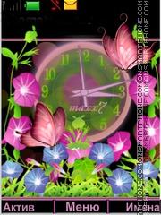Flowers - Butterfly theme screenshot