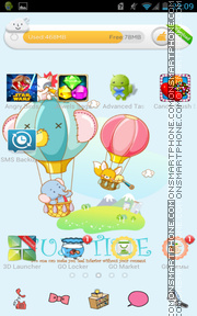 Funtime tema screenshot