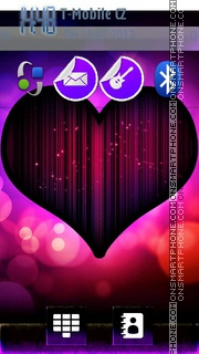 Abstract heart 03 theme screenshot