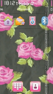 Rose 11 tema screenshot