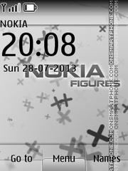 Скриншот темы Nokia Figures