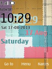 Colour Cube tema screenshot