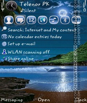 Moon Alone theme screenshot