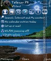 Скриншот темы Moon Alone