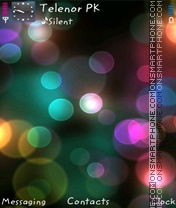 Bubbly theme screenshot