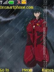Скриншот темы Inuyasha