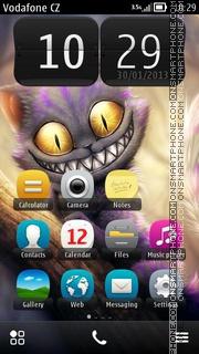 Cheshire Cat 02 es el tema de pantalla
