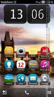 Charles Bridge In Prague theme screenshot