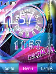 Color Nokia theme screenshot
