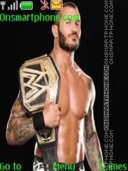 WWE Randy Orton es el tema de pantalla